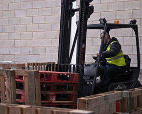 Fork Lift Truck Training in Wirral