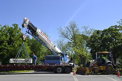 HIAB Lorry mounted crane